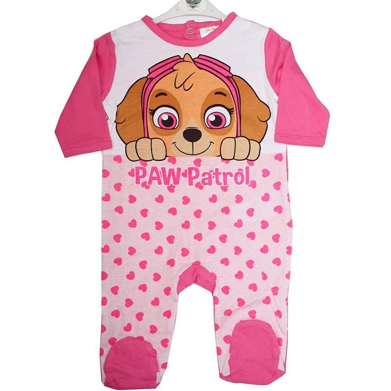 Paw Patrol βρεφικό βαμβακερό φορμάκι για κορίτσια (ER0306A)