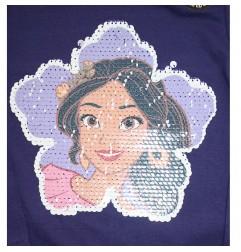Disney Elena Of Avalor Μακρυμάνικο Μπλουζάκι Για Κορίτσια με ματ παγιέτα που αλλάζει σχέδιο(RH1203A)