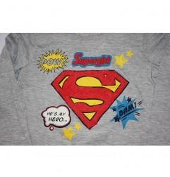 Supergirl παιδικό μακρυμάνικο μπλουζάκι για κορίτσια (RH1374Α)