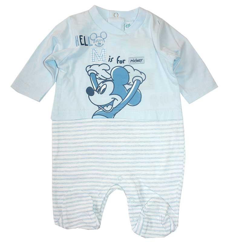 Disney Baby Mickey Mouse βαμβακερό φορμάκι για αγόρια (ER0006)