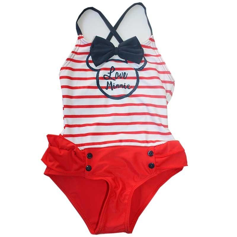 aec85ceba9d Disney Minnie Mouse Παιδικό Μαγιό ολόσωμο για κορίτσια (SE1700A)