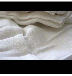 Πάνα μουσελίνα λευκή 70x80εκ