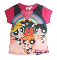The Powerpuff Girls Κοντομάνικο Μπλουζάκι Για Κορίτσια (ER1497A)