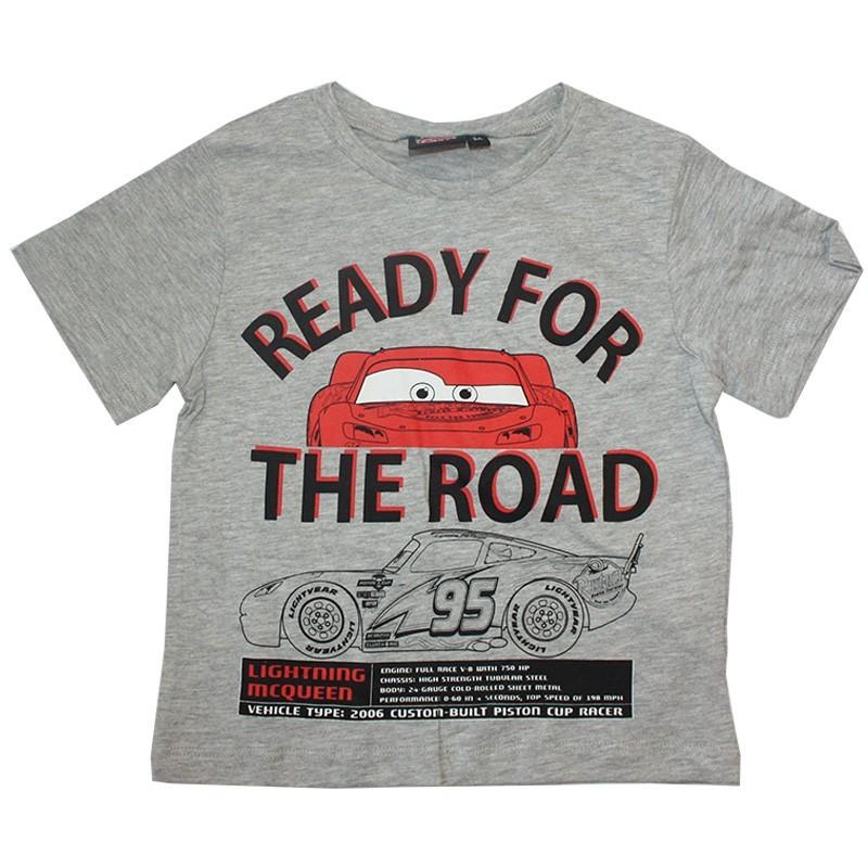 Disney Cars Κοντομάνικο μπλουζάκι για αγόρια (SE1430a)