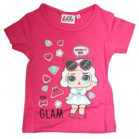 L.O.L. Surprise κοντομάνικο μπλουζάκι για κορίτσια (lol18-234)