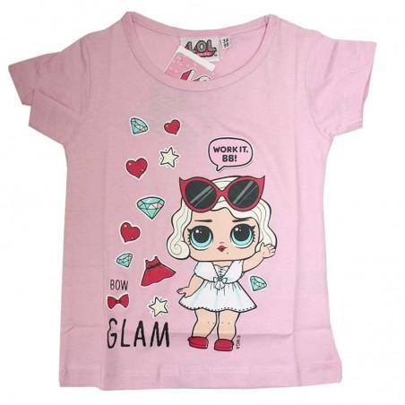 L.O.L. Surprise κοντομάνικο μπλουζάκι για κορίτσια (lol18-234A)