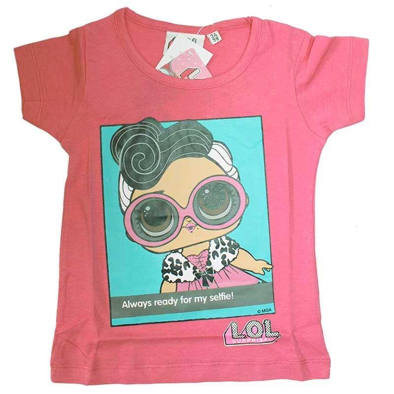 L.O.L. Surprise κοντομάνικο μπλουζάκι για κορίτσια (lol18-270B)
