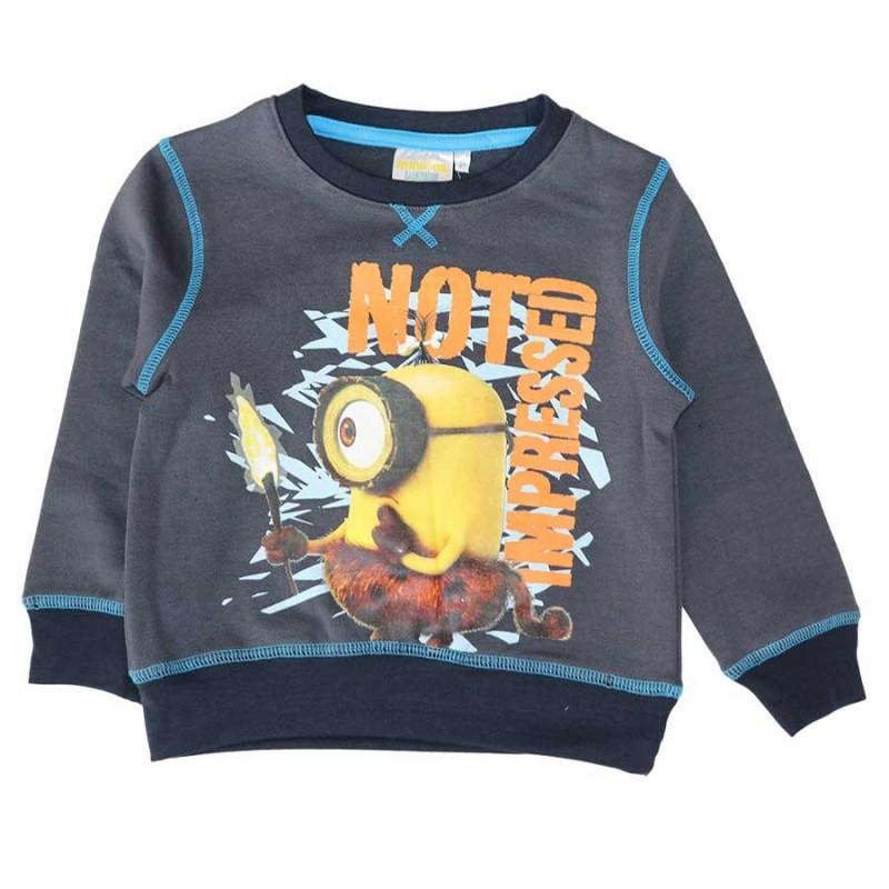 Minion Παιδική εποχιακή μπλούζα Φούτερ (PH1226A)