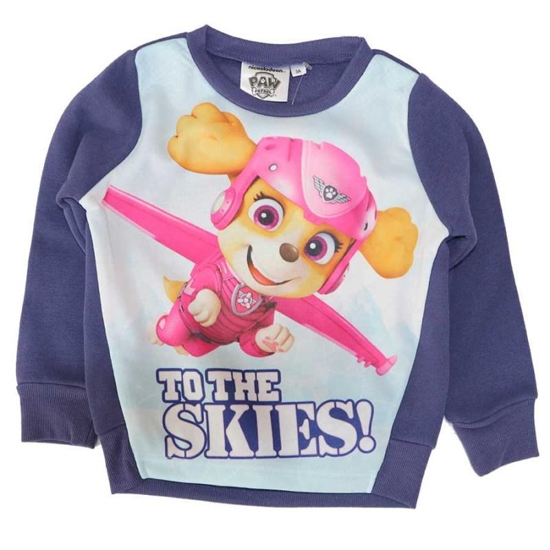 Paw Patrol παιδική μπλούζα φούτερ Για Κορίτσια (RH1168Α)
