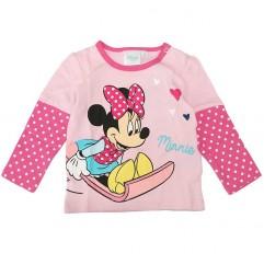 Disney Baby Minnie Mouse Βρεφικό μακρυμάνικο μπλουζάκι (801506A)