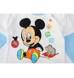 Disney Baby Mickey Mouse Βρεφικό βαμβακερό μπλουζάκι (71501B)