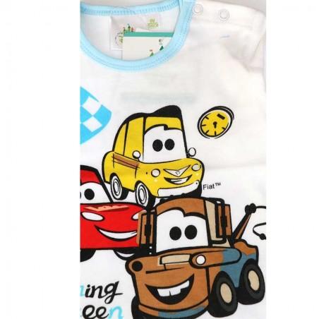 Disney Baby Cars Βρεφικό βαμβακερό μπλουζάκι (71502A)