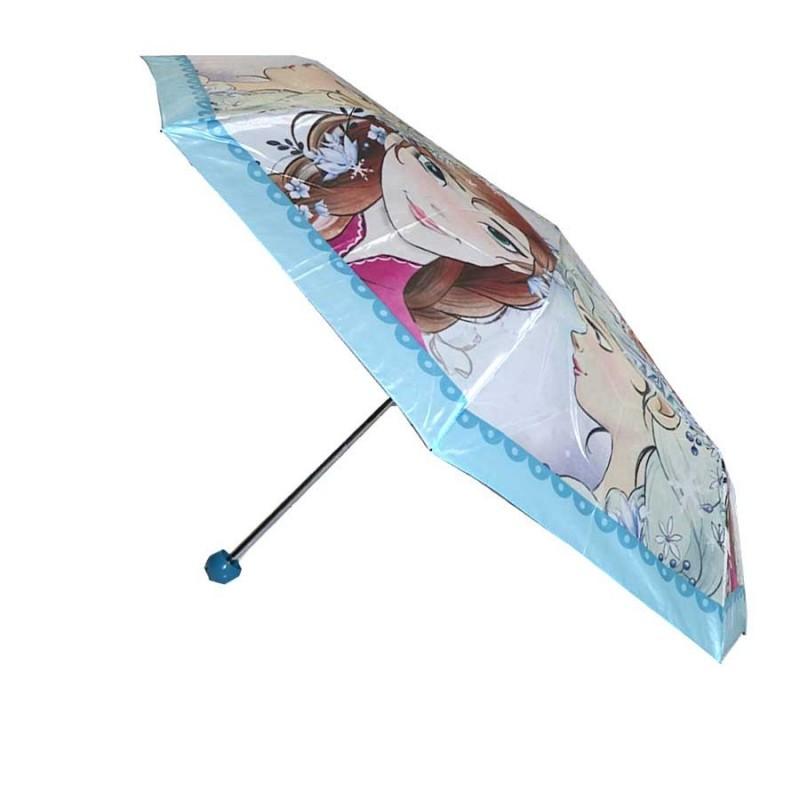 Disney Frozen παιδική Ομπρέλα βροχής σπαστή (HS4314)