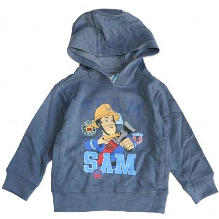 Fireman Sam παιδική μπλούζα φούτερ για αγόρια (991-333)