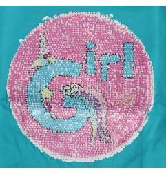 Μακρυμάνικο Μπλουζάκι Για Κορίτσια με παγιέτα που αλλάζει σχέδιο (52 02 2891 SEQ)