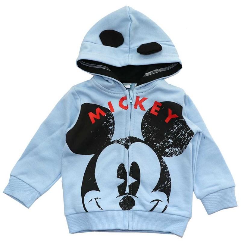 Disney Baby Mickey Mouse Βρεφική ζακέτα Φούτερ (HS0124)