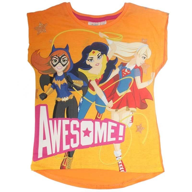 DC Super Hero Girls Κοντομάνικο Μπλουζάκι Για Κορίτσια (ER1477A)