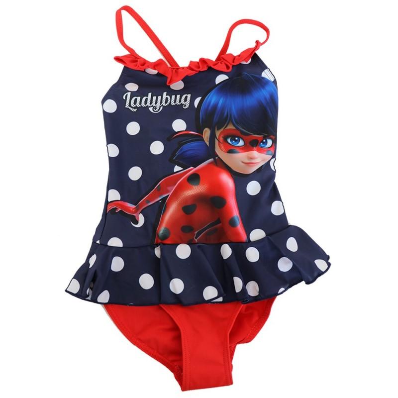 Miraculous Ladybug Παιδικό Μαγιό Ολόσωμο (ET1810A)