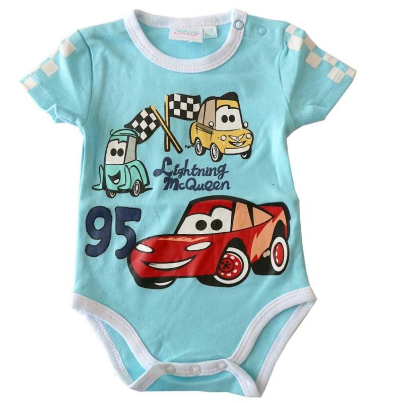 Disney Baby Cars βρεφικό Κοντομάνικο Ζιπουνάκι (DISK 01011C)