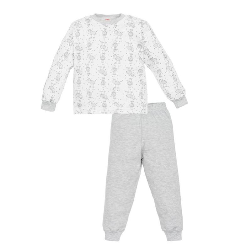Makoma Βρεφική Βαμβακερή πιτζάμα Little Sheep (07212)