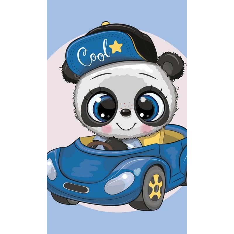 Παιδική Πετσέτα προσώπου Panda (30x50εκ.) (TNL203003-R)