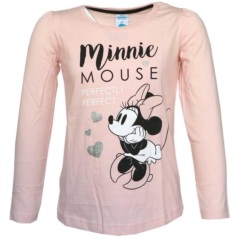 Disney Minnie Mouse Μακρυμάνικο Μπλουζάκι Για Κορίτσια (DIS MF 52 02 7831)