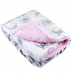 Soft Touch Βρεφική κουβέρτα Elephant (FBP199-P)