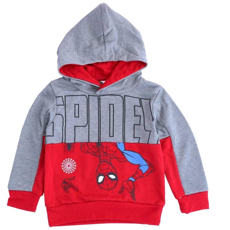 Spiderman παιδική Εποχιακή μπλούζα φούτερ για αγόρια (ET1015- RED)