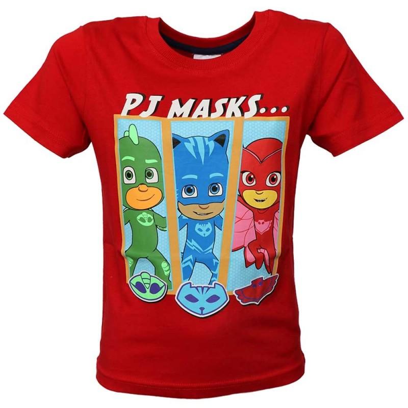 Pj Masks Κοντομάνικο Μπλουζάκι Για Αγόρια  (PM 52 02 080- RED)