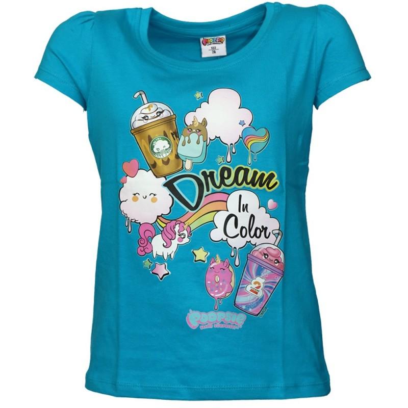 Poopsie Slime Surprise Κοντομάνικο Μπλουζάκι για κορίτσια (POP 52 02 014)