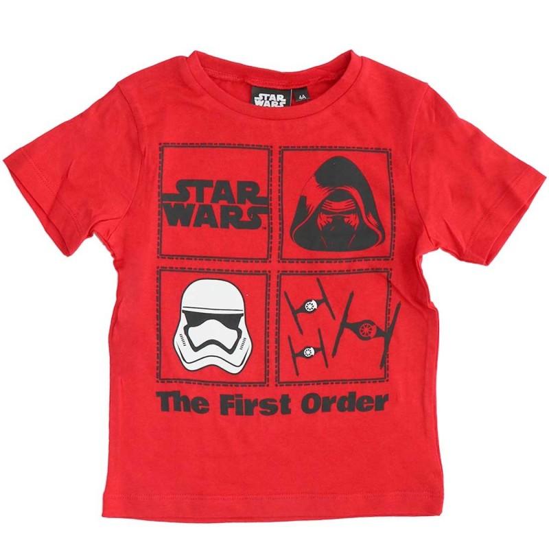 Star Wars Κοντομάνικο Μπλουζάκι Για Αγόρια (ER1404RED)