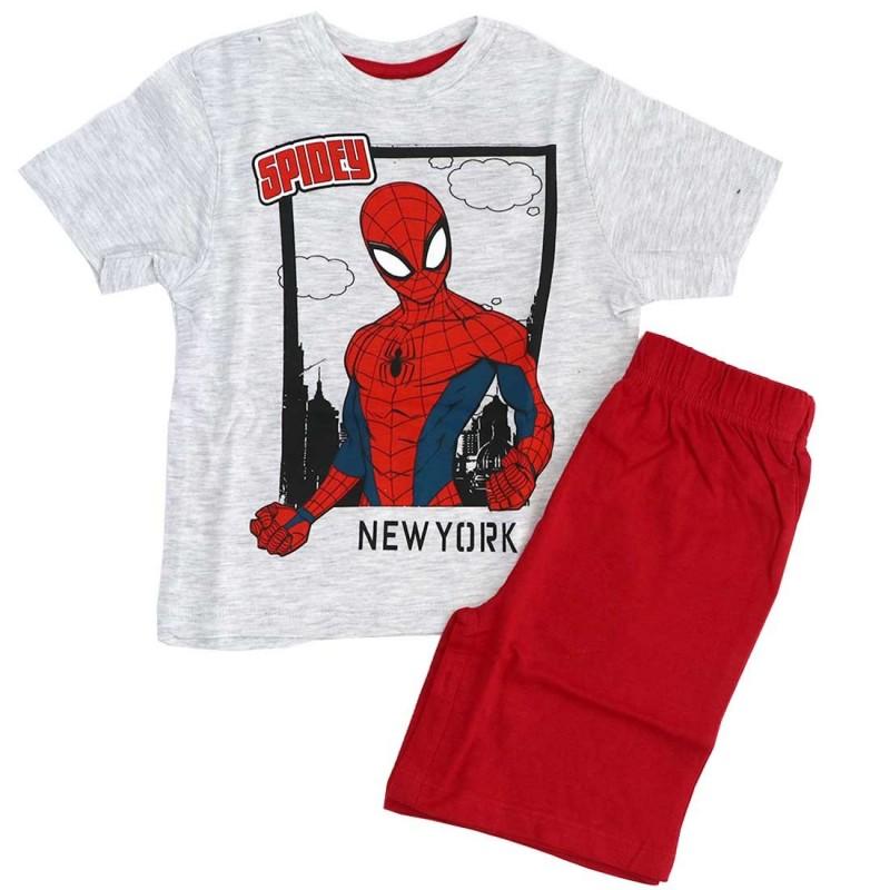 Marvel Spiderman παιδική Καλοκαιρινή πιτζάμα (SP S 52 04 978)