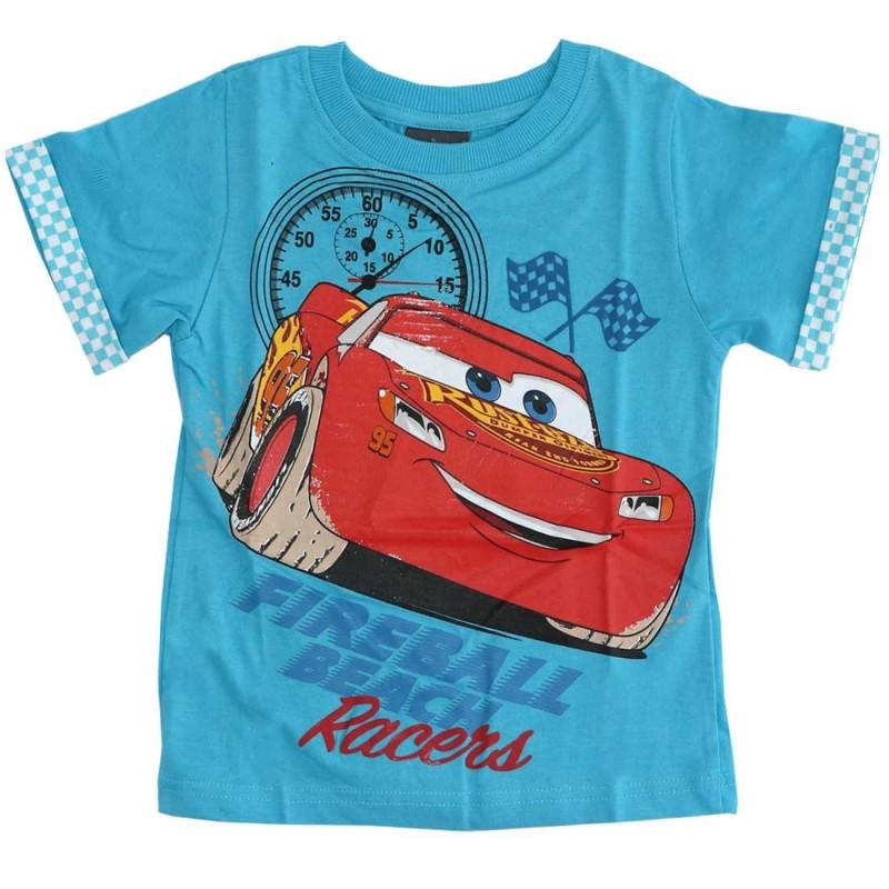 Disney Cars Κοντομάνικο μπλουζάκι για αγόρια (DIS C 52 02 6403SKY)