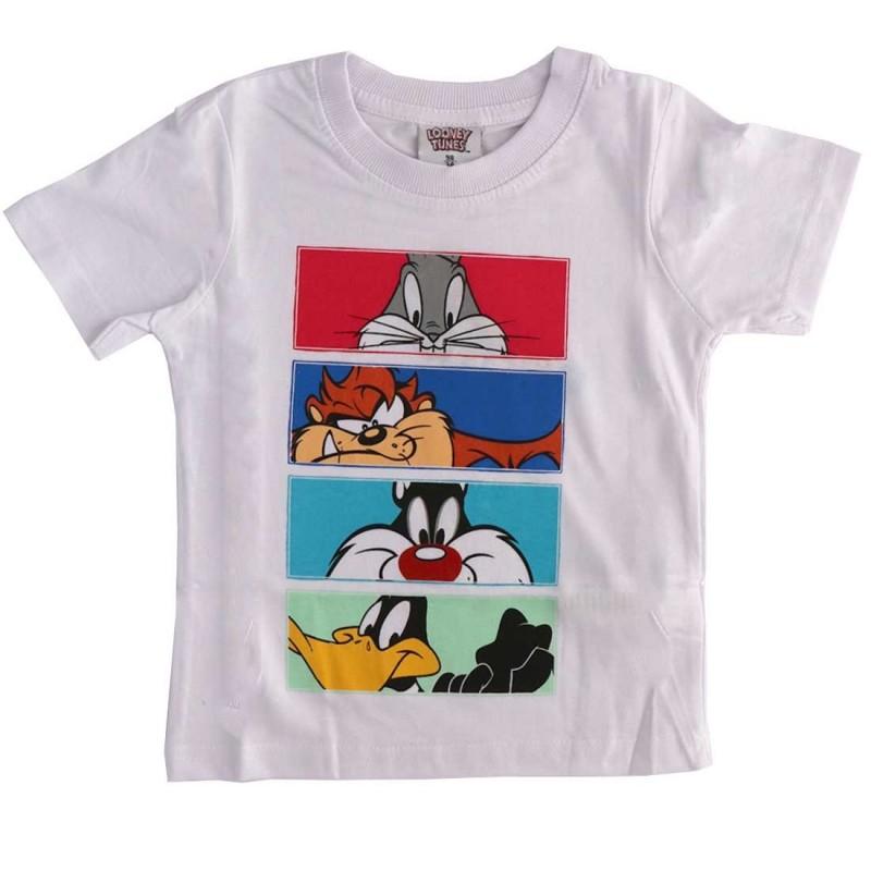 Looney Tunes Κοντομάνικο μπλουζάκι για αγόρια (WB 52 02 604)