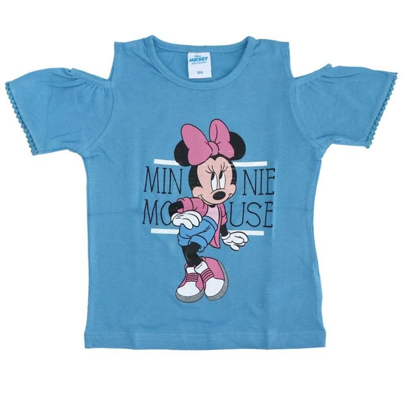 Disney Minnie Mouse κοντομάνικο μπλουζάκι για κορίτσια (DIS MF 52 02 8379)
