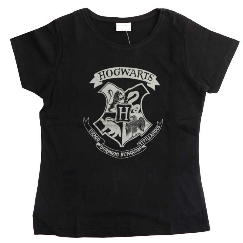 Harry Potter κοντομάνικο μπλουζάκι γυναικείο (HP 53 02 031/123BLACK)