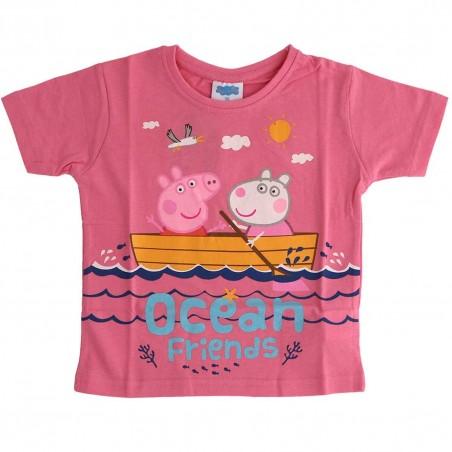 Peppa Pig Κοντομάνικο Μπλουζάκι Για Κορίτσια (PP 52 02 825)