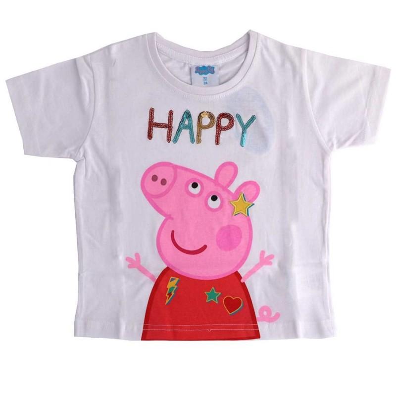 Peppa Pig Κοντομάνικο Μπλουζάκι Για Κορίτσια (PP 52 02 752)