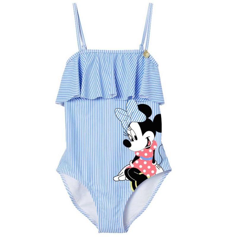 Disney Minnie Mouse Παιδικό Μαγιό ολόσωμο για κορίτσια (DIS MF 52 44 8362B)