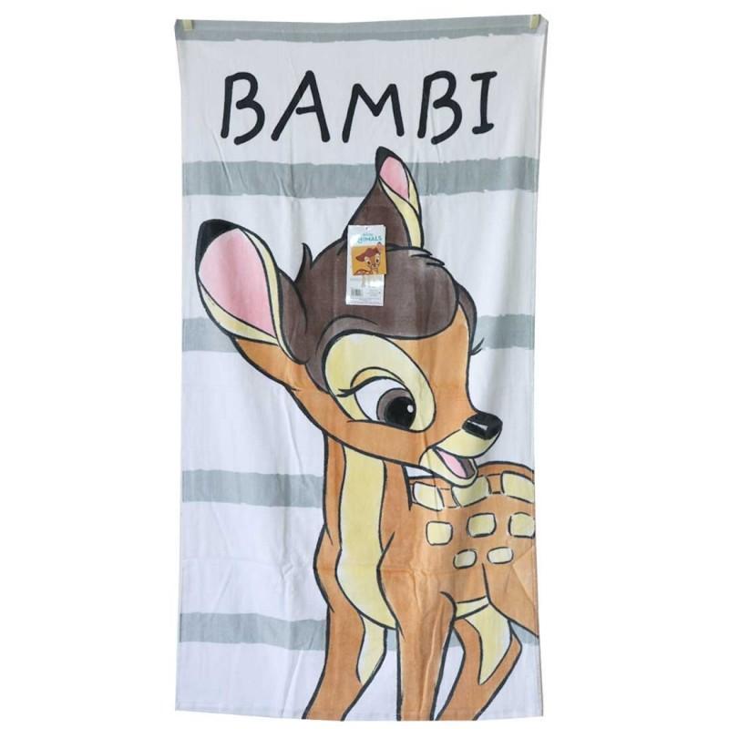 Disney Bambi Βαμβακερή Παιδική Πετσέτα θαλάσσης 70x140εκ. (JFK025086)