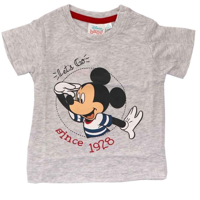Disney Baby Mickey Mouse Κοντομάνικο Μπλουζάκι Για αγόρια (01000)