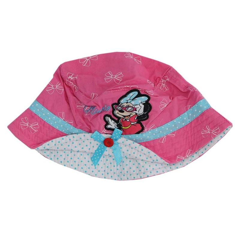 Disney Minnie Mouse παιδικό Καλοκαιρινό Καπέλο για κορίτσια  (DISM88235)