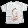 Βρεφικό κοντομάνικο μπλουζάκι με τύπωμα