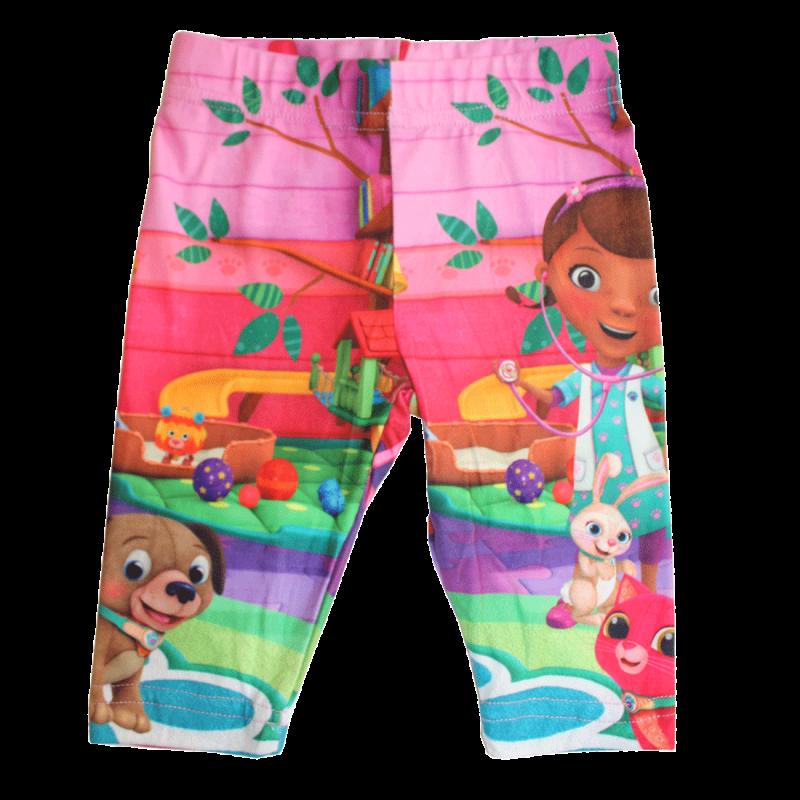 Disney Doc McStuffins Παιδικό Κολάν 3/4 (Κάπρι) Για Κορίτσια