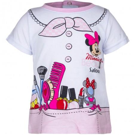 Disney Baby Minnie Mouse Βρεφικό κοντομάνικο μπλουζάκι (OE0052)