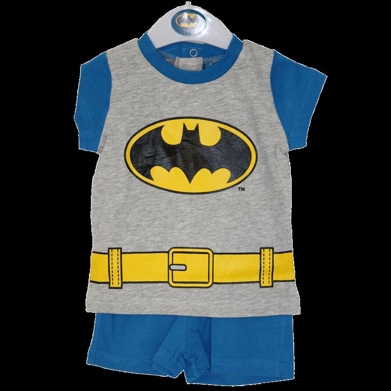 DC Comics Batman Βρεφικό Καλοκαιρινό Σετ για αγόρια (AQE0553)